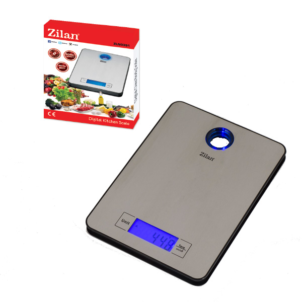 Digital Metal Kitchen Scale ZLN0351
