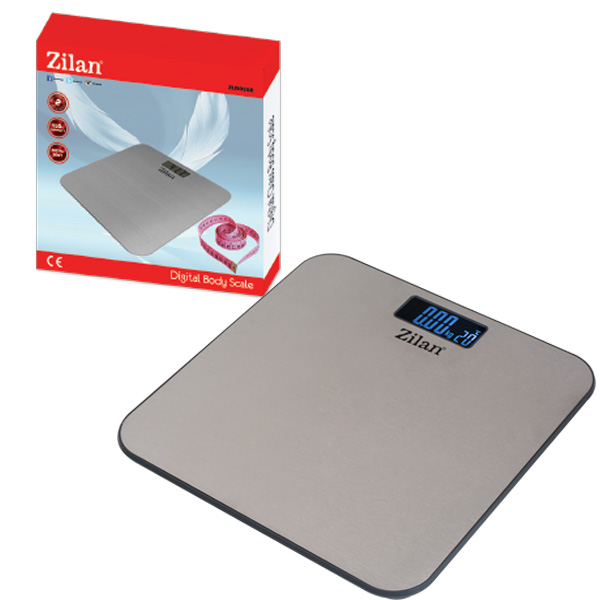 Digital Metal Body Scale ZLN0368