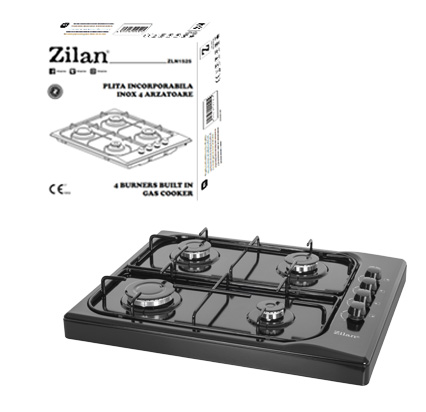 Gas Cooker Four Burners ZLN1518